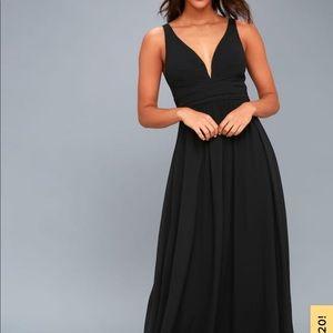 Lulus Black Dress Formal